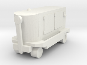 TLD Ground Power Unit 1/43 in White Natural Versatile Plastic