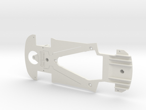 PSSW00301 Chassis for Sideways BMW M6 GT3 in White Natural Versatile Plastic