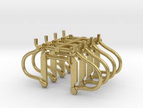 Remslangen NS 4L 4R in Natural Brass