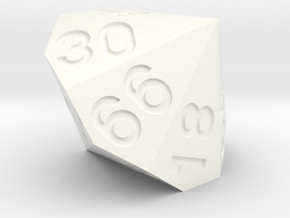 d84 from two dice in White Processed Versatile Plastic