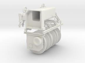 "Winch for ""Nordic"" Graupner in White Natural Versatile Plastic: 1:75"