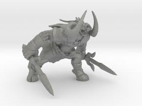Ganon monster miniature fantasy games rpg model in Gray PA12