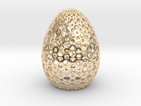 Egg Round1 in 14K Yellow Gold