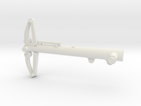 space 1999 44inch eagle transporter part axle in White Natural Versatile Plastic