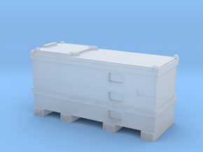 Mobile Fuel Tank 1/144 in Smooth Fine Detail Plastic