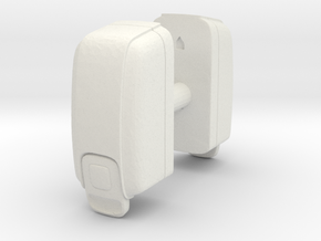 Hand Sanitizer Dispenser (x2) 1/12 in White Natural Versatile Plastic