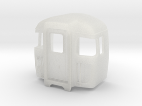 309 Cab5 in Smooth Fine Detail Plastic