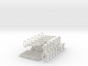 Hexapoddy-shapeways 17 in White Natural Versatile Plastic