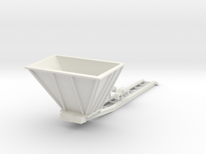 1/50th Hydraulic Excavator Bedding conveyor, large in White Natural Versatile Plastic
