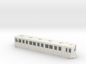 Carcasa S2000 Metro Madrid escala N Tomas de aire in White Natural Versatile Plastic