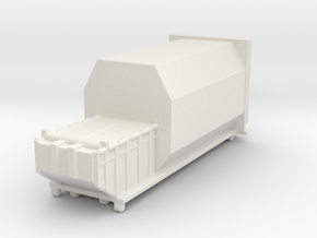 Waste Compactor 1/160 in White Natural Versatile Plastic