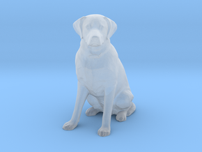 HO Scale Labrador in Smooth Fine Detail Plastic