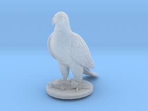 HO Scale Eagle & Rabbit in Smooth Fine Detail Plastic