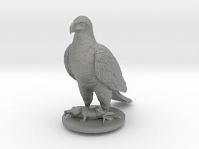 O Scale Eagle & Rabbit in Gray PA12
