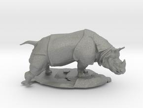 S Scale Rhino in Gray PA12