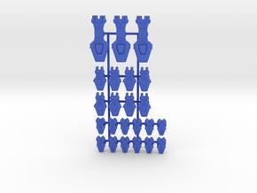 Lambda Generic Fleet 1 in Blue Processed Versatile Plastic