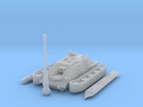 """1/144 WWII German JgPz E-100 """"Krokodil"""" in Smooth Fine Detail Plastic"""