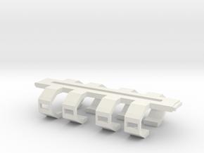 Cardassian Monac Shipyard Mirror Arm in White Natural Versatile Plastic