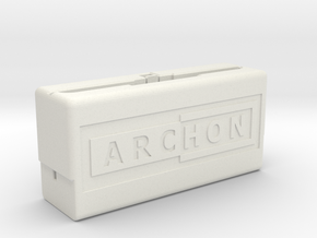 Archon Compilation Cartridge Case (Part 1 of 2) in White Natural Versatile Plastic