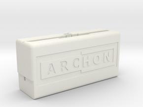 Archon Compilation Cartridge Case (Part 1 of 2) in White Natural Versatile Plastic