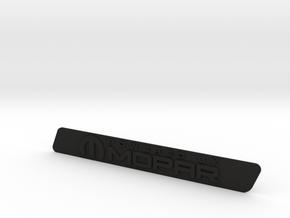 Powered by Mopar in Black Natural Versatile Plastic