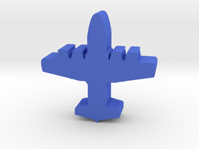 Blue Force Light Air Transport meeple in Blue Processed Versatile Plastic