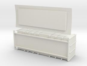 F1 - Swedish luggage van in White Natural Versatile Plastic