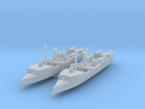 1/1250 Sivuch Class Gunboat x2 in Smooth Fine Detail Plastic