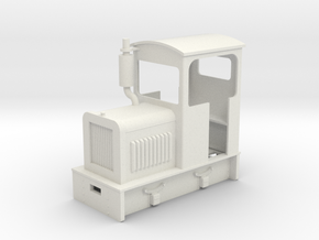 35:1 scale diesel Loco  in White Strong & Flexible