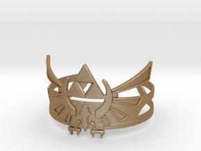 Zelda Bracelet in Matte Gold Steel