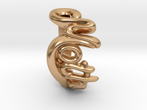Mother Word Ring in Polished Bronze: 7 / 54