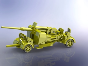 8,8cm Flak 41 moving 1/160 in Smooth Fine Detail Plastic