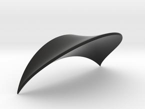 Headphone Mount in Black Natural Versatile Plastic