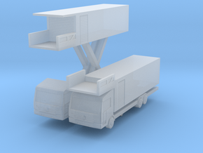 Econic Catering Truck (x2) 1/350 in Smooth Fine Detail Plastic