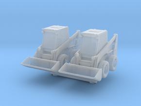 Bobcat S570 Loader (x2) 1/160 in Smooth Fine Detail Plastic