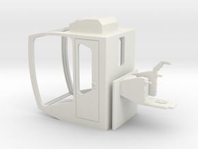 Sennebogen Portcab in White Natural Versatile Plastic: 1:50