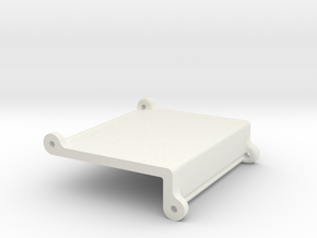 Goblin rear electronics mount in White Natural Versatile Plastic