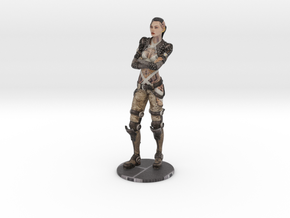 Jack from Mass Effect figure 150mm (6 inch) in Natural Full Color Sandstone