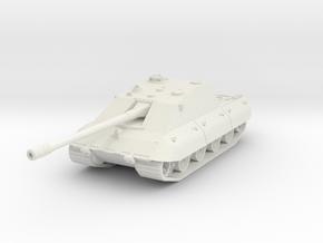 Jagdpanzer E-100 Krokodril 1/100 in White Natural Versatile Plastic