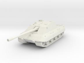 Jagdpanzer E-100 Krokodril 1/144 in White Natural Versatile Plastic