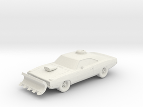 Wasteland Wars Classic Muscle Car in White Natural Versatile Plastic