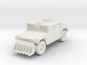 Wasteland Wars Military Truck in White Natural Versatile Plastic