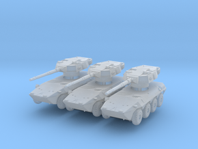Iveco B1 Centauro (x3) 1/285 in Smooth Fine Detail Plastic