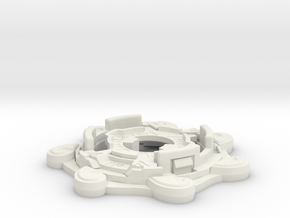 Chassis 1B' in White Natural Versatile Plastic