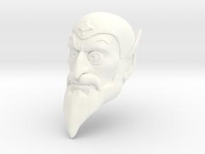 Hexon Head in White Processed Versatile Plastic