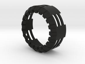 WS_Starkiller_v3_S3 in Black Natural Versatile Plastic