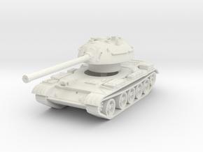 T-54-3 Mod. 1951 1/100 in White Natural Versatile Plastic