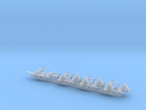 AD-5W/EA-1E w/gear x8 (CW) in Smooth Fine Detail Plastic: 1:700