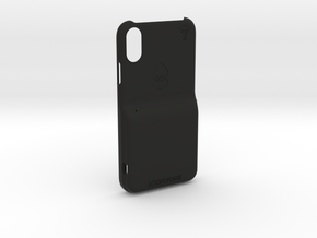 iPhone XR LooplyCase™ with RileyLink Inlay in Black Natural Versatile Plastic