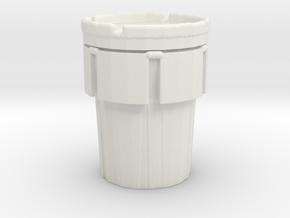 Hazmat Salvage Drum 1/64 in White Natural Versatile Plastic